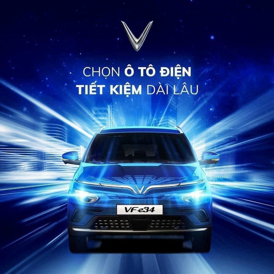 ô tô điện VinFast Vf e34